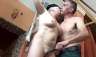 chubby moms first bizarre fuck lessom