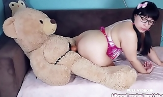Play Time with Kiwwi - Teddy Bear Fuck!