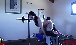 lifting weights and cocks ADR00235