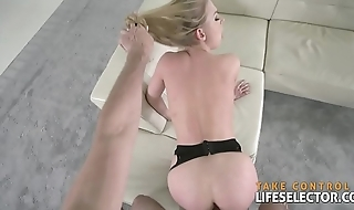 Sneaking in a stranger'_s house to fuck Lucy Heart POV