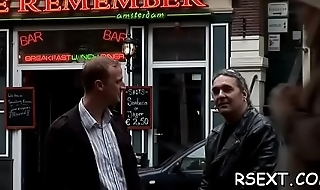 Concupiscent old dude takes a tour in amsterdam'_s redlight district