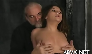 Loads of nasty amatur servitude porn with hot matures