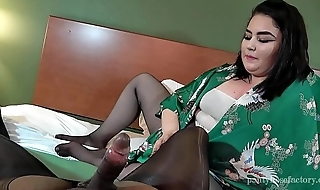 Pantyhose Fun with Katie Lux