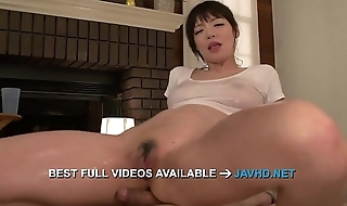 Amateur Asian babe amazes with warm blowjob! Nao Mizuki
