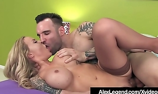 Inked Alexia Vosse Fucked Wide of French Cock Alex Legend!