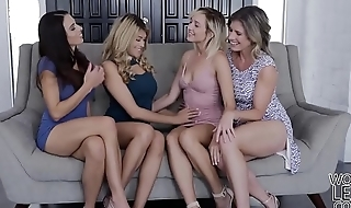 Lesbians Mother Daughter Exchange Club - Eva Long and Eliza Jane