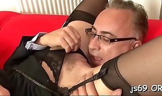 Cutie with great arse sucks and gets drilled hardcore air